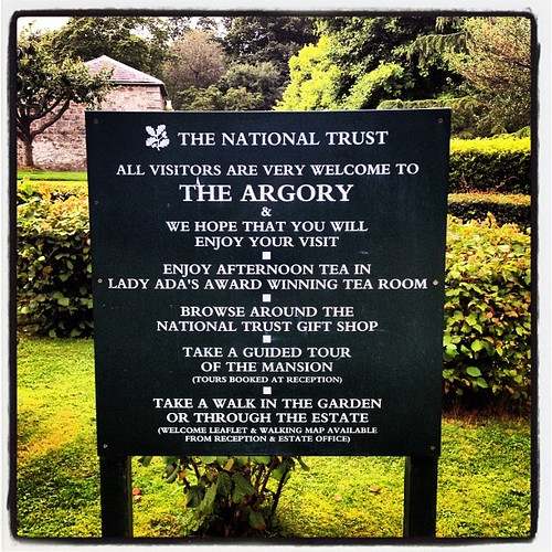 This morning we are at the argory