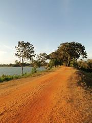 Tissa Wewa (Lake) Bund (Janesha B) Tags: nature unescoworldheritagesite srilanka paddyfields anuradapura putlam tissawewa giantlakes ancientdagoba