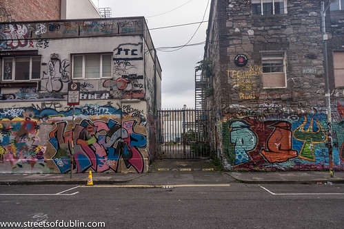 Street Art At Windmill Lane (Dublin)
