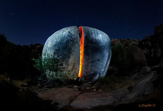 Planet Pedriza: Great ball of fire.