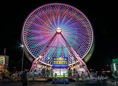 Salem Fair Giant Wheel 2016 (Terry Aldhizer) Tags: salem fair giant wheel long fexposure night virginia terry aldhizer deggeller midway attractions wwwterryaldhizercom