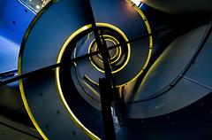 Stairway Series. Fundacin Telefnica (Madrid) III (Carlos Sobrino) Tags: nikon madrid stairway geometrical csobrino flickelite architecture
