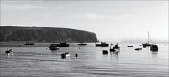 Swanage Pano July 2016 3 (DXO) (Mat W) Tags: swanage seaside july 2016 sea bay coast dorset solent panorama stitchedpanorama boats dxofilmpack