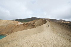 Iceland (Neza Peterca) Tags: iceland viti crater krafla volcano