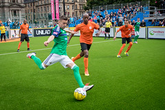 Homeless World Cup 2016. George Square, Glasgow, Scotland - 10th July 2016 (Homeless World Cup Official) Tags: hwc2016 homelessworldcup aballcanchangetheworld thisgameisreal streetsoccer glasgow soccer netherlands northernireland player action strike ball unilad bala unknown scotland