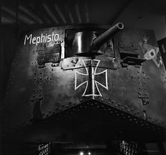 Mephisto (Shooting Ben) Tags: caffenol caffenolc film mediumformat filmisnotdead 6x6 wwi german shootfilm shootfilmnotmegapixels blackandwhite bw filmphotographic heyfsc sharefilm onfilm 120 120film australianwarmemorial canberra act
