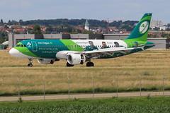 "AIRBUS A320 214 ""Aer Lingus"" EI-DEO 2486 Stuttgart Juillet 2016 (paulschaller67) Tags: airbus a320 214 aerlingus eideo 2486 juillet 2016 stuttgart"