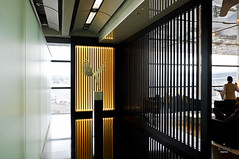Entrance foyer (A. Wee) Tags: cathaypacific  thebridge  lounge hongkong hkg    china foyer