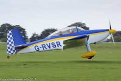G-RVSR - 2013 build Vans RV-8,  taxiing for departure at Sywell during the 2013 LAA Rally (egcc) Tags: 2013laarally egbk elders grvsr laarally lightroom northampton orm pfa30314470 rv8 sywell vans