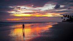 Sunset in Ngwe Saung (mathias.moeller) Tags: myanmar sunset dusk beach ngwesaung