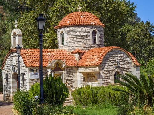 Christos Polentas Park and Agios Christoforos - Tauronitis - Voukolies road (2)