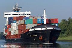 E.R. TALLINN (9448671) (001-21.08.2015) (HWDKI) Tags: ertallinn imo 9448671 schiff ship vessel hanswilhelmdelfs delfs kiel nordostseekanal nok kielcanal schlp rendsburg containership containerschiff mmsi 636092164