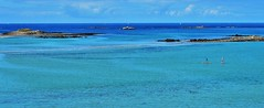 Ste Marguerite (tropical colors in Brittany) (lecocqfranck) Tags: blue gnneniyisi thebestofday saintemarguerite landeda