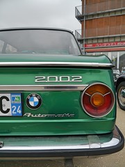 BMW 2002 (C.Elston) Tags: angouleme 2016 ramparts circuit des dangouleme citroen h van 2cv 2cv6 lancia delta bmw 2002 traction avant ami austin mini ford capri aston martin v8 vantage