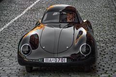 Berlin-Rom-Wagen (michael_hamburg69) Tags: hamburg germany deutschland speicherstadt pickhuben hlssenlyon classiccars oldtimer auto car volkswagen porsche vwtyp60k10 porschetyp64 berlinromwagen sportwagen 1939 rennwagen