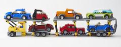 Lego Car Transporter (Anton Creator) Tags: lego legocartransporter legotruck legotransporter legocars moc