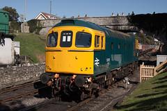 33201 xe SL (daveymills31294) Tags: 33201 class 33 332 swanage railway