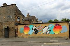 the toasters (Luna Park) Tags: london walthamstow woodstreetwalls streetart mural production lunapark toasters thetoasters