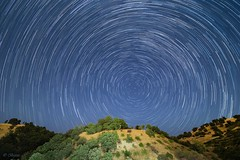 Star Trails at Halazga hills, Wazha Village, Suleimanya (Barez Barznji) Tags: stars startrails nightsky hills astrophotography northstar polaris nature kurdistan wazha halazga