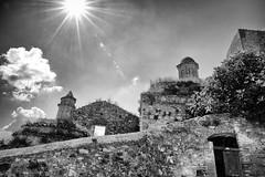 The sun is shining on the Craco's ruins... (gioturco) Tags: basilicata matera craco rovine anticoborgo biancoenero blackandwhite bw bn sunnyday