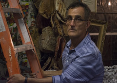 Profile: Abraham Shalehcni (jamesvdalgarno) Tags: queenwest toronto antique shop store oddity hoard business sales ontario iran resident tennant profit work worker owner manager