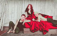Liam Hemsworth, Jennifer Lawrence and Josh Hutcherson / The Games Diaries (Mare Skybernathy) Tags: liamhemsworth jenniferlawrence joshhutcherson thehungergames vampire diaries