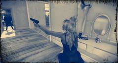 Katie's got a gun... (Katie's Picz) Tags: gun redmint deaddollz verocity boondock l2 jamaicabeachhouse