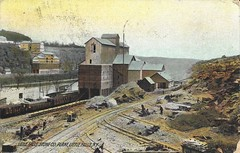 Little Falls Stone Company Plant On The West Shore Railroad (CNYrailroadnut) Tags: west shore railroad littlefalls ny herkimer rr county