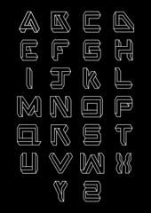 illuso_typeface_01 (fabriziofalcone) Tags: tipografia typedesign grafica graphic milano fabriziofalcone type typo