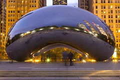 After the Masses (Myk Jordan) Tags: chicago illinois unitedstates cloudgate bean chicagobean art streetart