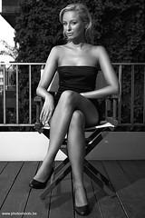 Natalie (www.PhotoShoots.be) Tags: girl girls model models modelos women woman people person pretty beautiful sensual sexy photoshoot shoot modeling hot body gorgeous female femenine femenina europe european guapa bella jolie mannequin femenin black white lingerie bed russians blackandwhite monochrome caucasian sitting outdoors barcelona bcn spain catalunya belgica amberes leg legs high heels shes shoes pumps zapatos talons tacones