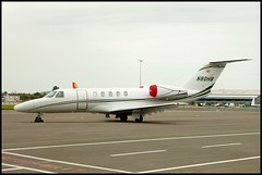 N80HB Cessna 525C Citation CJ4 (Trevor Buckland) Tags: airport aircraft aviation jet cessna citation southendairport cj4 egmc 525c n80hb