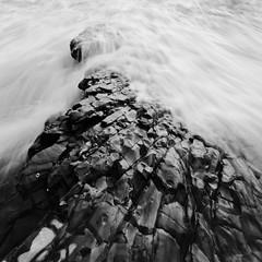 Wedge (killersnowman) Tags: ocean california sunset bw white black de montana pacific lososos montanadeoro mdo oro