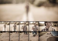 27/52--Falling (Dave Moore Photography) Tags: portrait sepia self fun banana falling montage peel narrative potassium slipping watchyourstep theteleidoscope