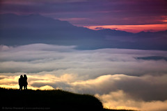 Near the ocean of clouds... (Anton Jankovoy (www.jankovoy.com)) Tags: ocean nepal mountains clouds sunrise himalayas kathmanduvalley nagarkot