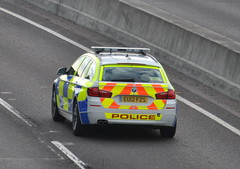Essex Police / BMW 530d / Armed Response Vehicle / QA09 / EU12 FZS (Chris' 999 Pics) Tags: old uk blue roof light england woman man film speed lights bill pc code nikon bars pix order fuji cops united nick fine blues samsung kingdom cop finepix copper and fujifilm service law hd enforcement breakers emergency 112 f11 siren coppers arrest policeman 999 constable 991 twos strobes policing lightbars rotators d3000 led's roofcode s2750