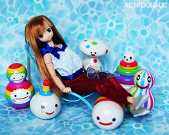 Friends With Chou (Retrograde Works) Tags: friends toys dolls with you vinyl figures strangeco lycee azone blindbox