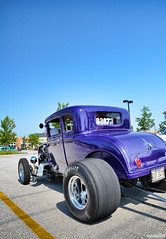 1930 Ford Model A (Chad Horwedel aka ChadsCapture) Tags: blue classic ford car modela illinois 4thofjuly naperville showplace fordmodela dragcar 1930fordmodela