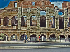 (blurray) Tags: summer roma estate turisti colosseo