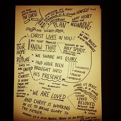 we are loved #biblenote (Paul Goode) Tags: lotsofnotes instagram biblenote