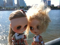 A Newly Refound Photo From When Amelia Was In Portland Last Year With Goldie