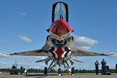 (Eagle Driver Wanted) Tags: aircraft aviation military jet f16 thunderbirds airforce viper aero aerospace usairforce militaryaircraft fightingfalcon jblm usairforcethunderbirds