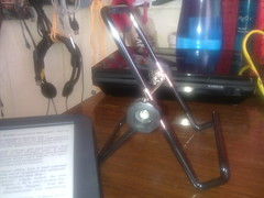 best tablet stand @ home, pune (black_coffee_blue_jeans) Tags: stan domo ebook tablet nook hold holder ereader ipad kindle
