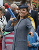 .Catherine, Duchess of Cambridge aka Kate Middleton visits Nottingham in the East Midlands of England on the Queen's Diamond Jubilee tour of Britain. After arriving in Nottingham centre the Royal party went to Vernon Park where they watched children taking part in various activities. Nottingham, England