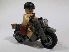 Indian 841 US Motorbike WW2 (Project Azazel) Tags: us lego pa motorbike american ww2 ba custom wwll custombike customlego brickarms thesecondworldwar indian841 legomotorbike projectazazel customlegobike