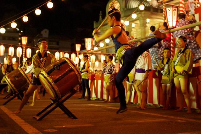 築地本願寺納涼盆踊り大会21