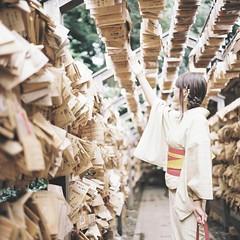 *wish (fangchun15) Tags: 120 6x6 film japan rolleiflex kodak kawagoe 着物 portra400 28f