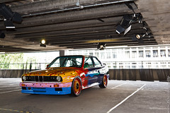 IMG_1025 (NeilllP) Tags: london art car festival 30 drive driving ultimate m1 machine shoreditch bmw olympics m3 z1 csl gt2 2012 525i v12 730 lmr 320i 650csi 635cs1 neilllp neilpco