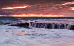 Sunset Cascade (heathth) Tags: ocean sunset seascape water waterfall scenery sundown coastal perth cascades cottesloe westernaustralia nationalgeographic waterscape northcottesloe nikond300s tamron18270mmaspherical