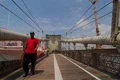Brooklyn Bridge (Gwenaël Piaser) Tags: unlimitedphotos gwenaelpiaser canon eos 7d canoneos eos7d canoneos7d new yrok newyork july 2012 america amrique usa etatsunis tokinaaf1116mmf28 atx116prodx tokina 116 atx 1116mm tokina1116mmf28 wideangle wide angle bridge brooklyn brooklynbridge red city ville